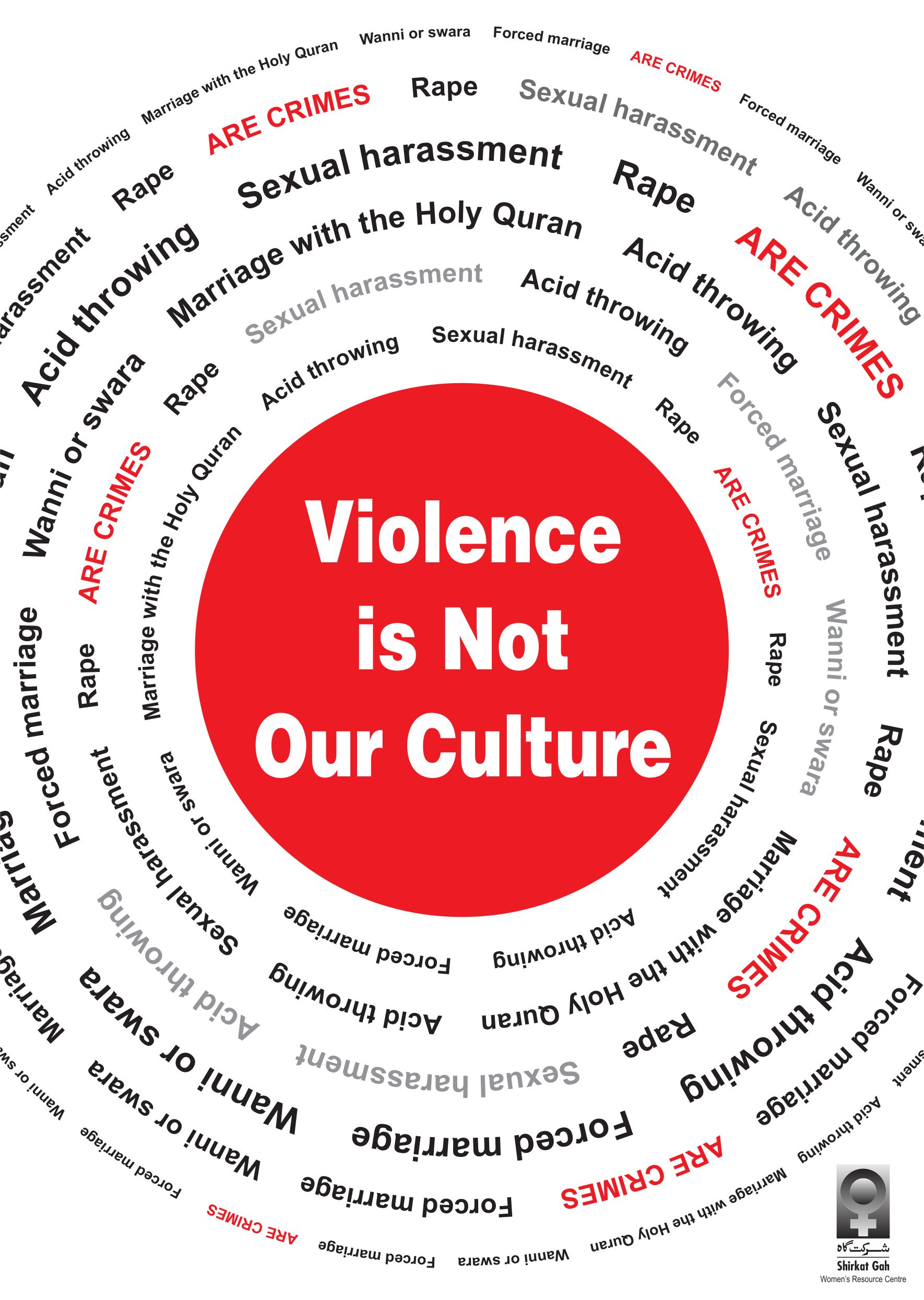 Violence is Not Our Culture