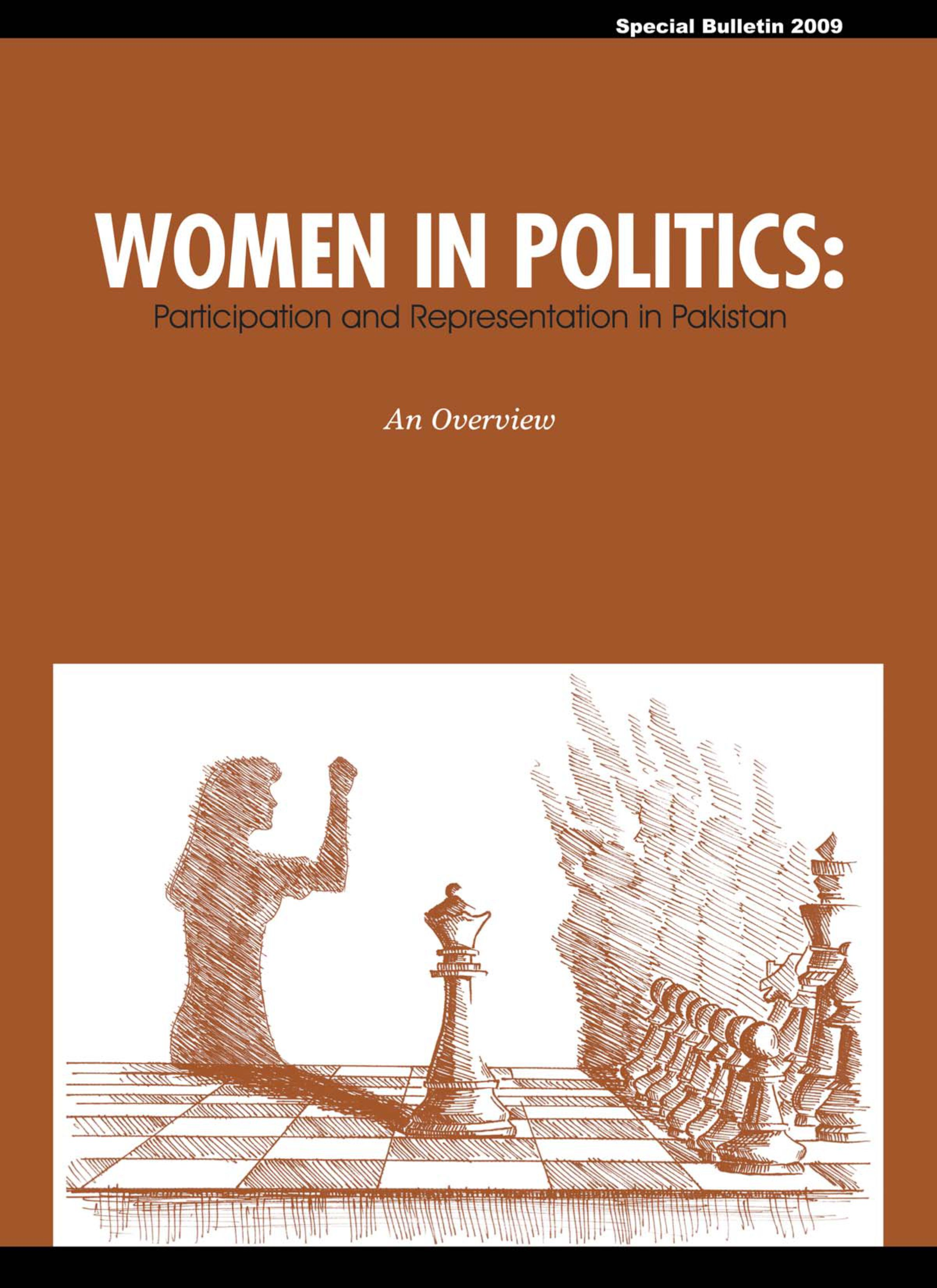 Women in Politics Participation and Representation in Pakistan